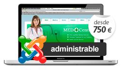 Diseño web administrable, diseño web con gestor de contenidos, diseño web joomla