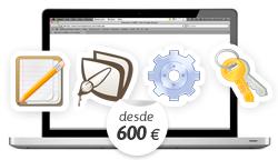 Diseño web a medida, desarrollo web